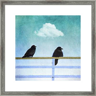 The Wait Framed Print by Priska Wettstein