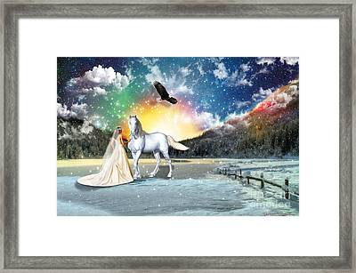 The Waiting Bride Framed Print