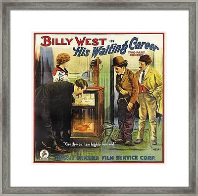 The Waiting Career 1916 Framed Print