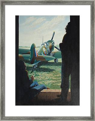 The Waiting Framed Print by  Keith Kochenour