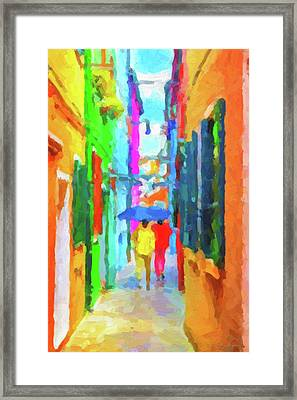 The Walkabouts - Good Morning, Italy Framed Print