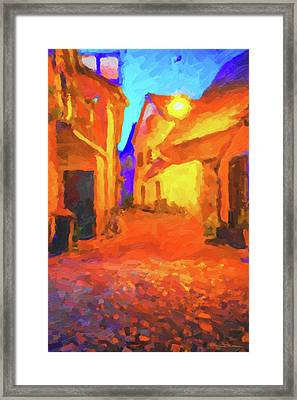 The Walkabouts - Night Walk In A Small German Town Framed Print