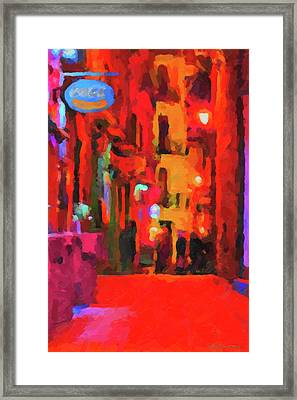 The Walkabouts - Spanish Red Moon Stroll Framed Print