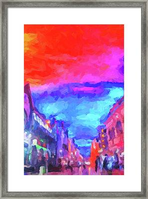 The Walkabouts - Sunset In Chinatown Framed Print