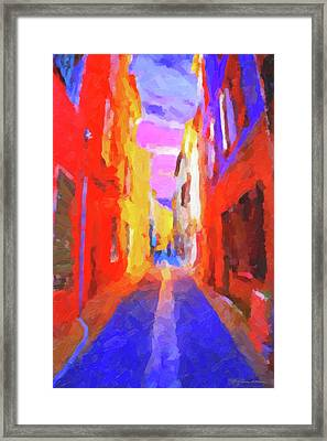 The Walkabouts - Twilight In Francethe Walkabouts - Twilight In France Framed Print
