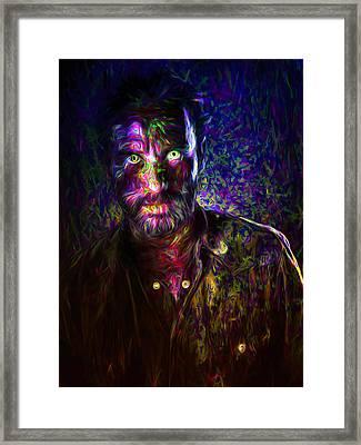 The Walking Dead Andrew Lincoln Rick Grimes Framed Print