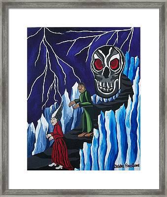 The Walking Dead Framed Print by Deidre Firestone