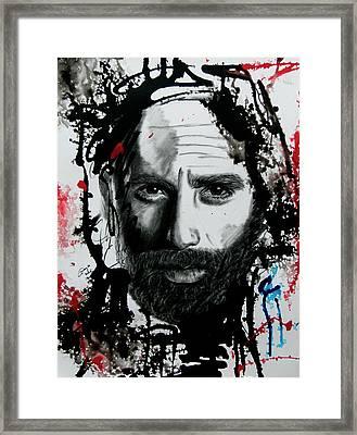 The Walking Dead - Rick #2 Framed Print