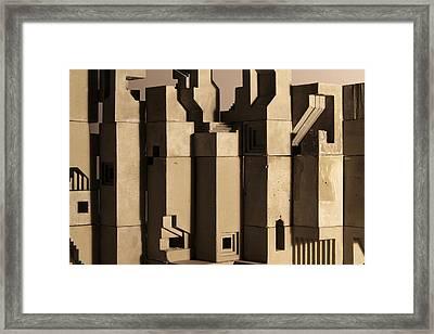 The Wall 1 Framed Print by David Umemoto