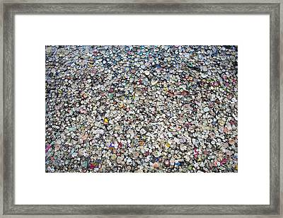 The Wall #12 Framed Print