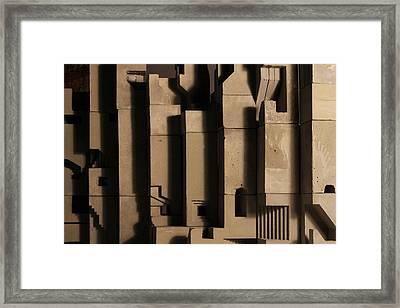 The Wall 3 Framed Print by David Umemoto