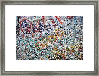 The Wall #2 Framed Print