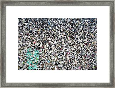 The Wall #6 Framed Print