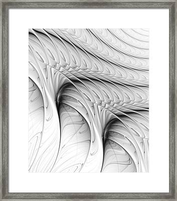 The Wall Framed Print by Anastasiya Malakhova