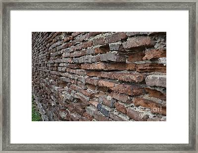 The Wall Framed Print by Cendrine Marrouat