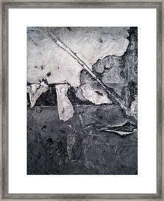 Fractured Framed Print