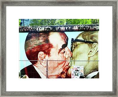The Wall East Berlin 2 Framed Print