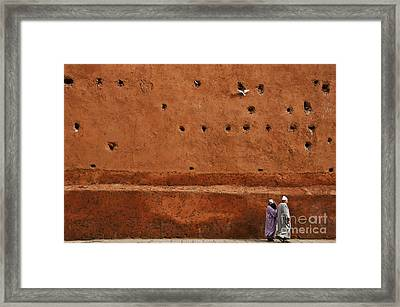 The Wall Framed Print by Marion Galt