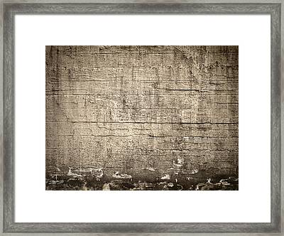 The Wall Framed Print by Wim Lanclus