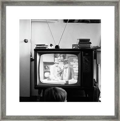 Phoenix Television Circa 1971 Framed Print