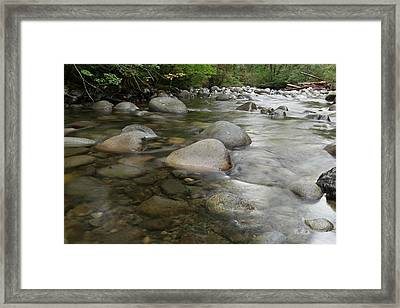 The Wallace River Framed Print