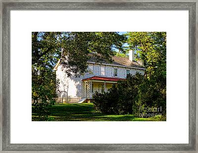 The Waln House Framed Print