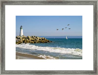 The Walton Lighthouse Framed Print