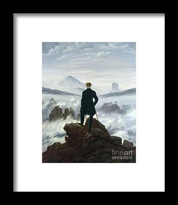 The Sky Framed Prints