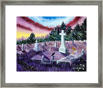 The Waning Light Framed Print by Laura Iverson