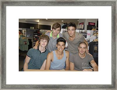 The Wanted Framed Print