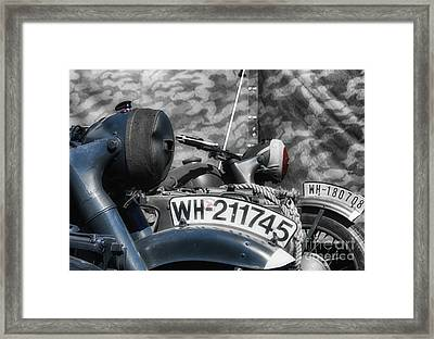 The War Machines  Framed Print by Steven Digman