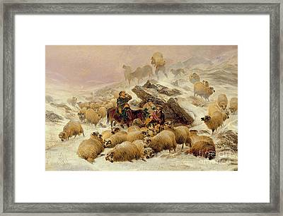 The Warmth Of A Wee Dram Framed Print