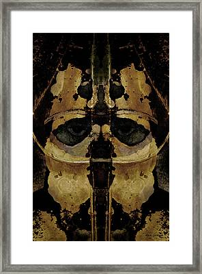 The Warrior Framed Print by David Gordon
