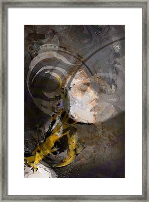 The Warrior Rest Framed Print by Freddy Kirsheh
