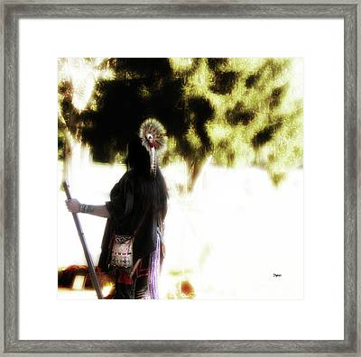 The Warrior  Framed Print by Steven Digman