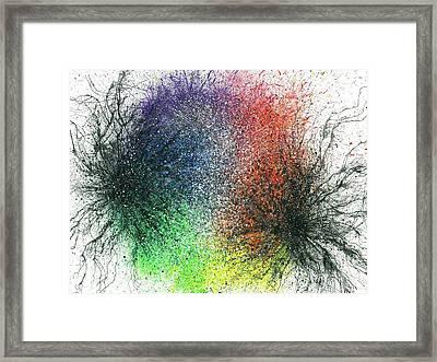 The Warriors Of The Rainbow #704 Framed Print by Rainbow Artist Orlando L aka Kevin Orlando Lau