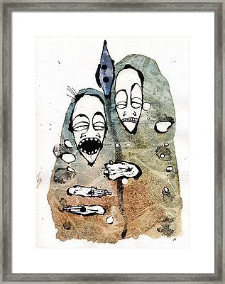 The Warriors Two Framed Print by Mark M  Mellon
