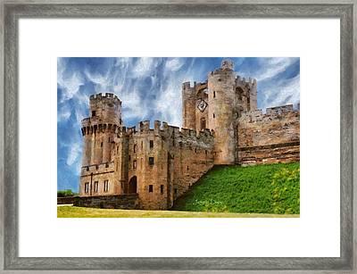 The Warwick Castle - Da Framed Print