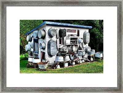 The Wash House Framed Print