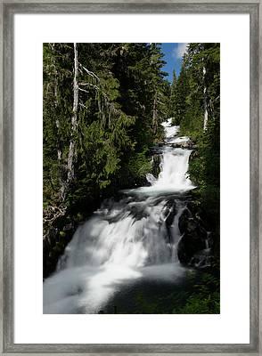 The Washington Cascades Framed Print