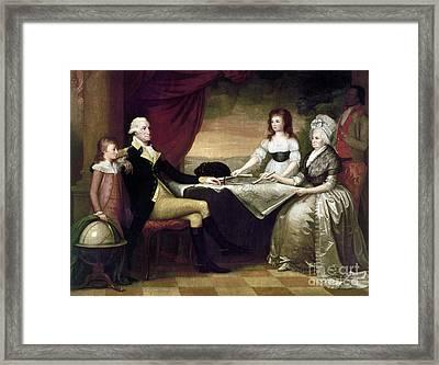 The Washington Family Framed Print