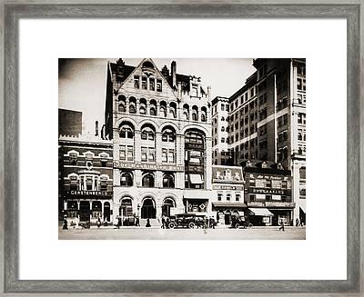The Washington Post Building Framed Print