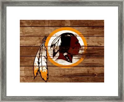 The Washington Redskins 3b Framed Print by Brian Reaves
