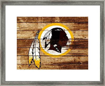The Washington Redskins 3f Framed Print by Brian Reaves