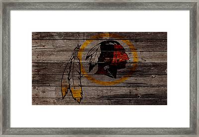 The Washington Redskins W1 Framed Print