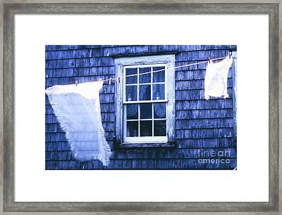 The Washline Framed Print
