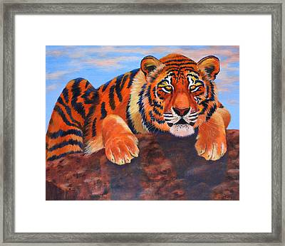 The Watch Framed Print by Wendi Curtis