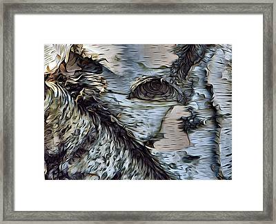 The Watcher In The Wood Framed Print