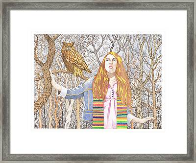The Watcher Framed Print by Jack Puglisi