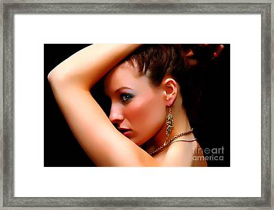 The Watcher Vii Framed Print by Clayton Bruster